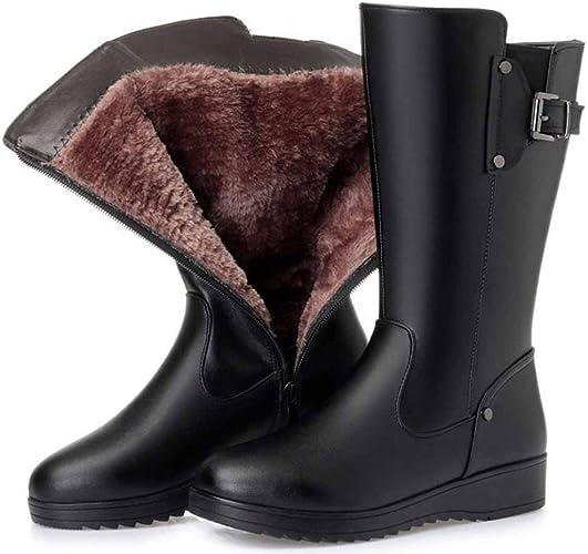 NOADream Women High Heel Snow Boots