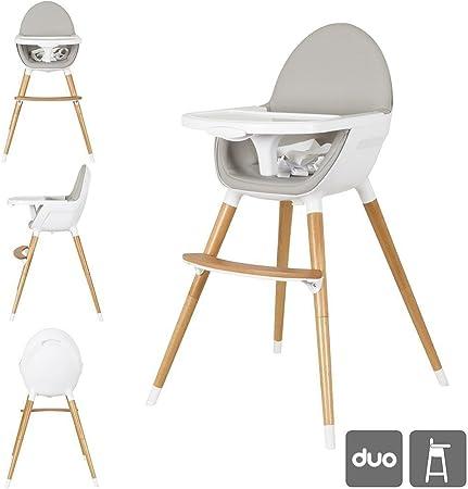 La trona duo es única por su diseño y además es una trona muy práctica para tu bebé,Lo que la hace a