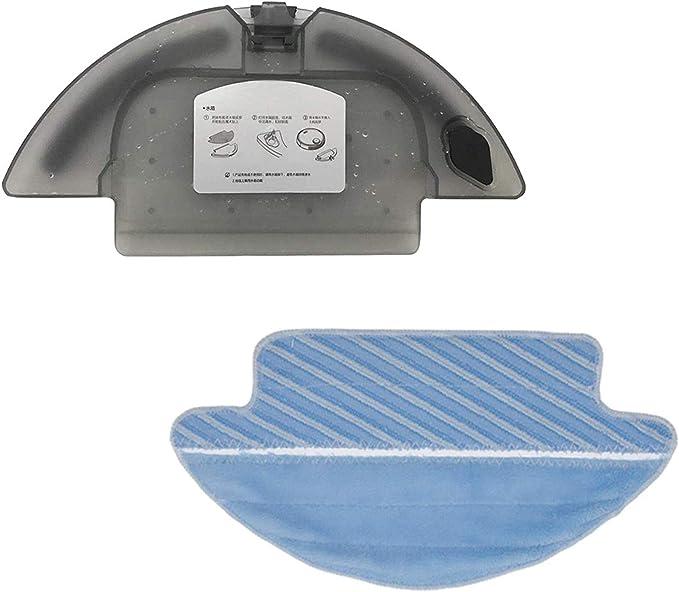 Zealing 1x Tanque de Agua + 1x paño de fregona para Cecotec Conga Serie 3090 Robot Aspirador Repuestos para Tanque de Agua: Amazon.es: Hogar