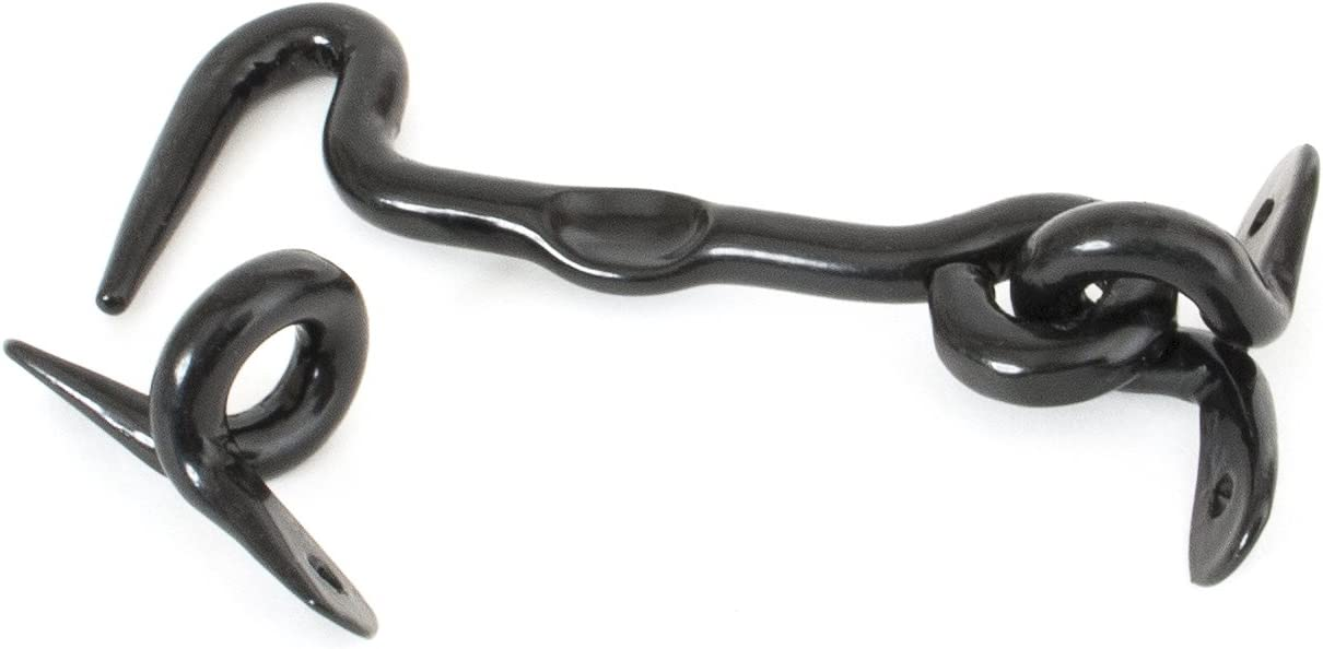 From the Anvil 83777 8 Forged Cabin Hook-Black 8-Inch