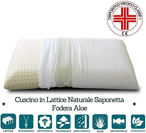 Lattice Cuscini.Evergreenweb Cuscino In Lattice 40x70 Alto 12cm Cervicale