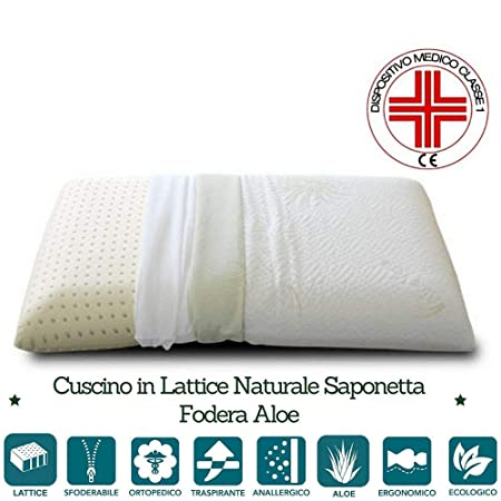 Meglio Cuscino In Lattice O Memory Foam.Evergreenweb Cuscino In Lattice 40x70 Alto 12cm Cervicale