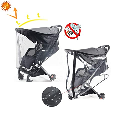 ASTARC Cochecito de bebe parasol,Protector de lluvia ...
