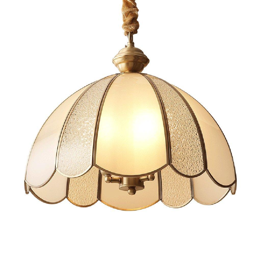 CDBL All-copper decorative chandelier, living room chandelier, American chandelier, dining room lamp, golden chandelier
