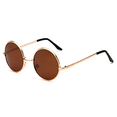 3541febcdc fashion sunglass polarized classic Round Sunglasses Women Metal Frame  Sunglass Men Brand Sun Glasses