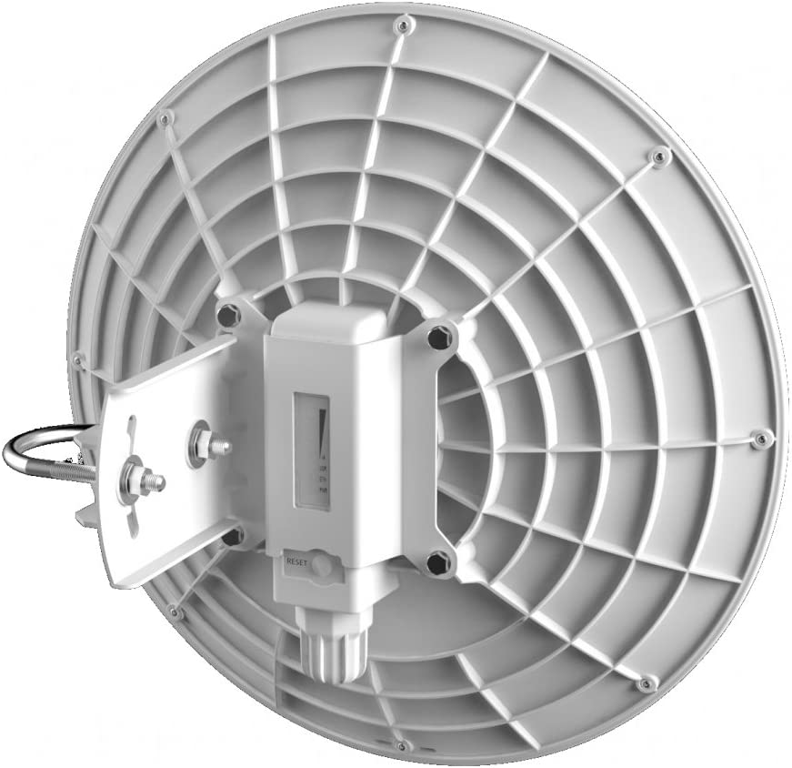 Mikrotik dynadish 5 conexión Ethernet, energía sobre (PoE) Color Blanco Punto de Acceso WLAN – Puntos Punto de Acceso WLAN (10,100,1000 Mbit/s, 128 ...