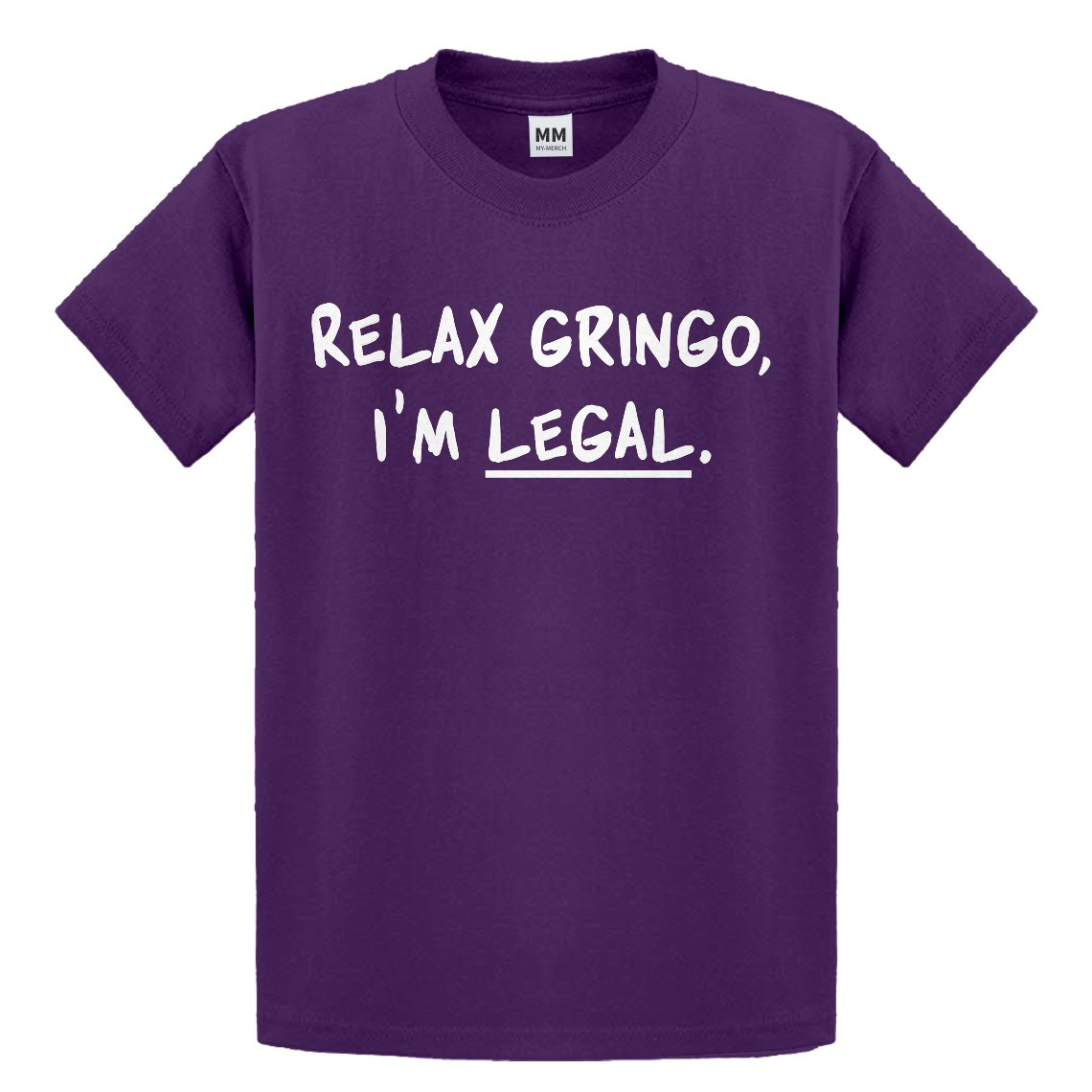 Indica Plateau Youth Relax Gringo Im Legal Kids T-Shirt