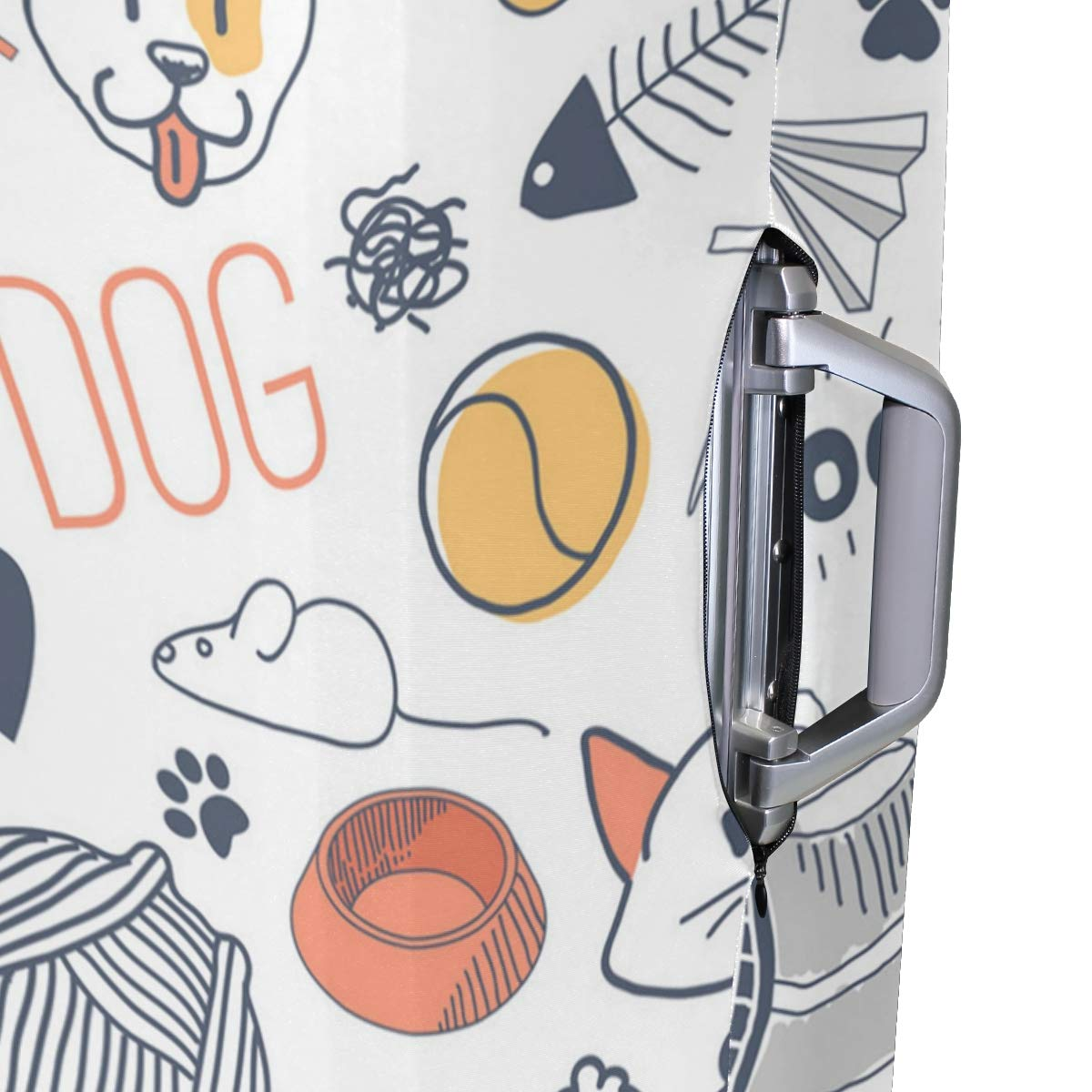 Dog Kennel Costume Traveler Lightweight Rotating Luggage Protector Case Can Carry With You Can Expand Travel Bag Trolley Rolling Luggage Protector Case