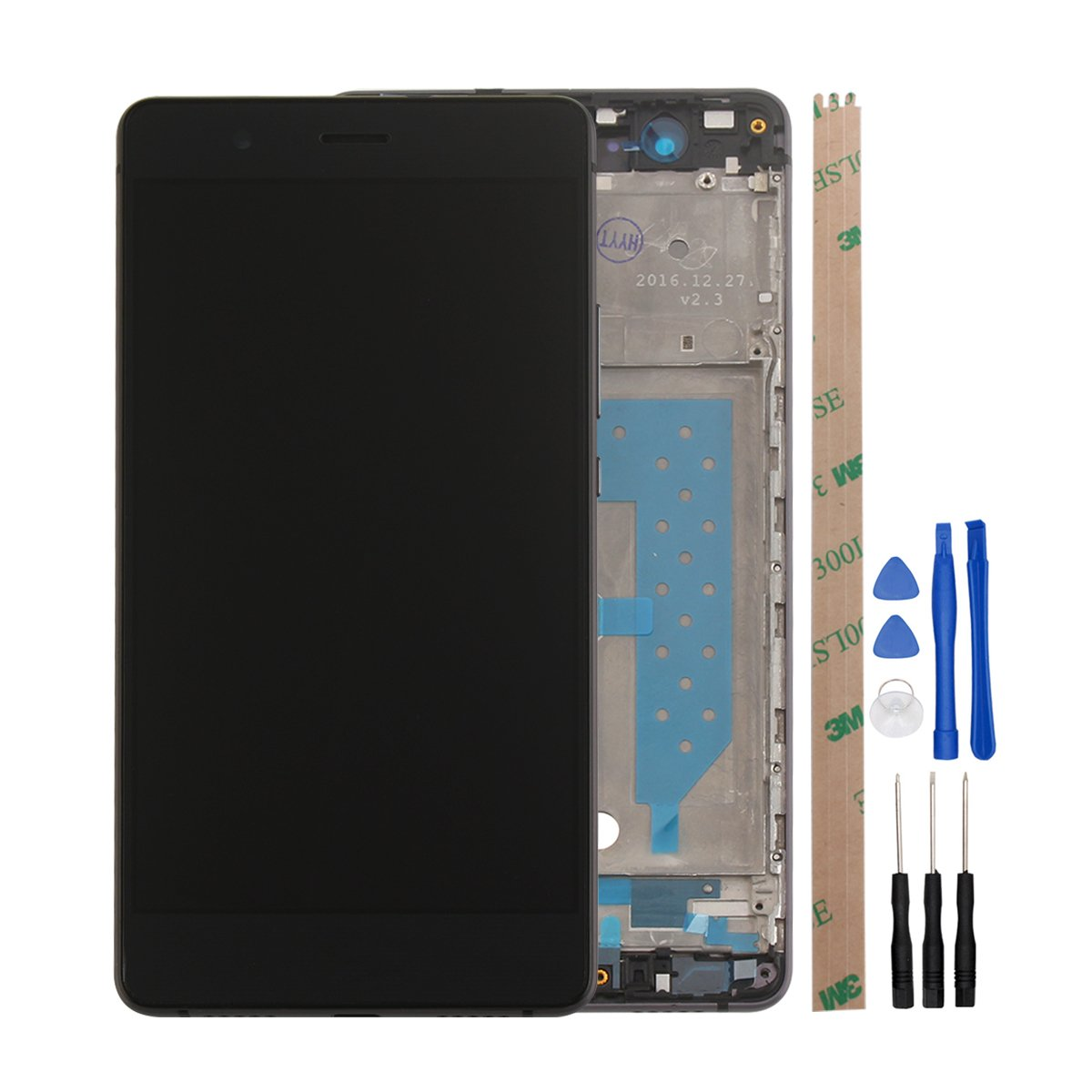 HYYT LCD Display+Touchscreen Digitizer+Rahmen für: Amazon.de: Elektronik