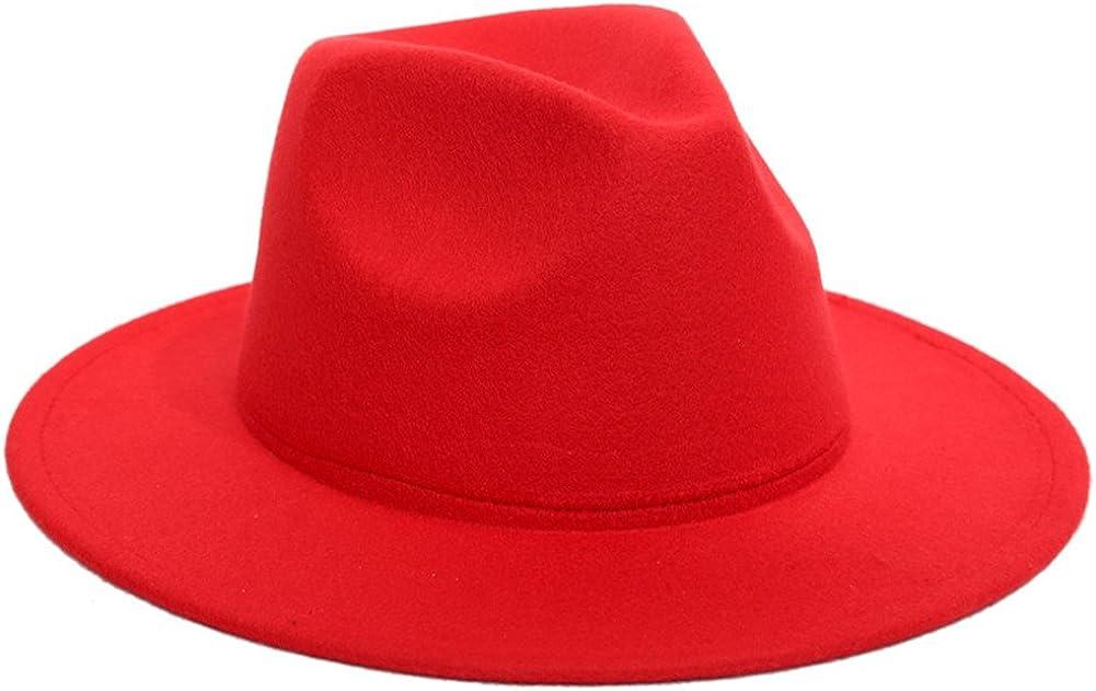 Sunsnow Wide Brim Jazz Hat...