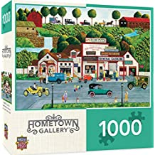 MasterPieces Hometown Gallery The Old Filling Station - Gas Station 1000 Piece Jigsaw Puzzle by Art Poulin