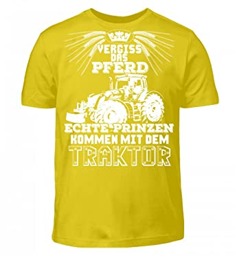 Shirtee Landwirt Shirt Landwirtschaft Feld Hektar Traktor