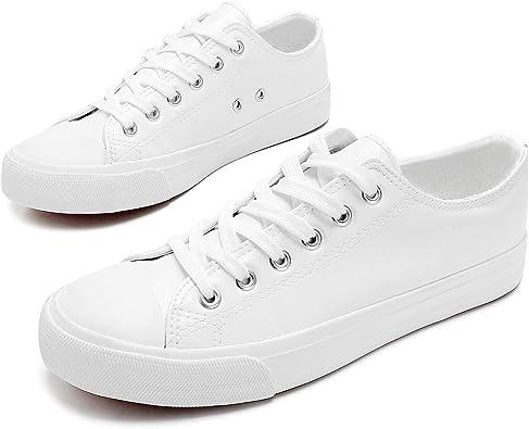 Women's PU Leather Fashion Sneakers