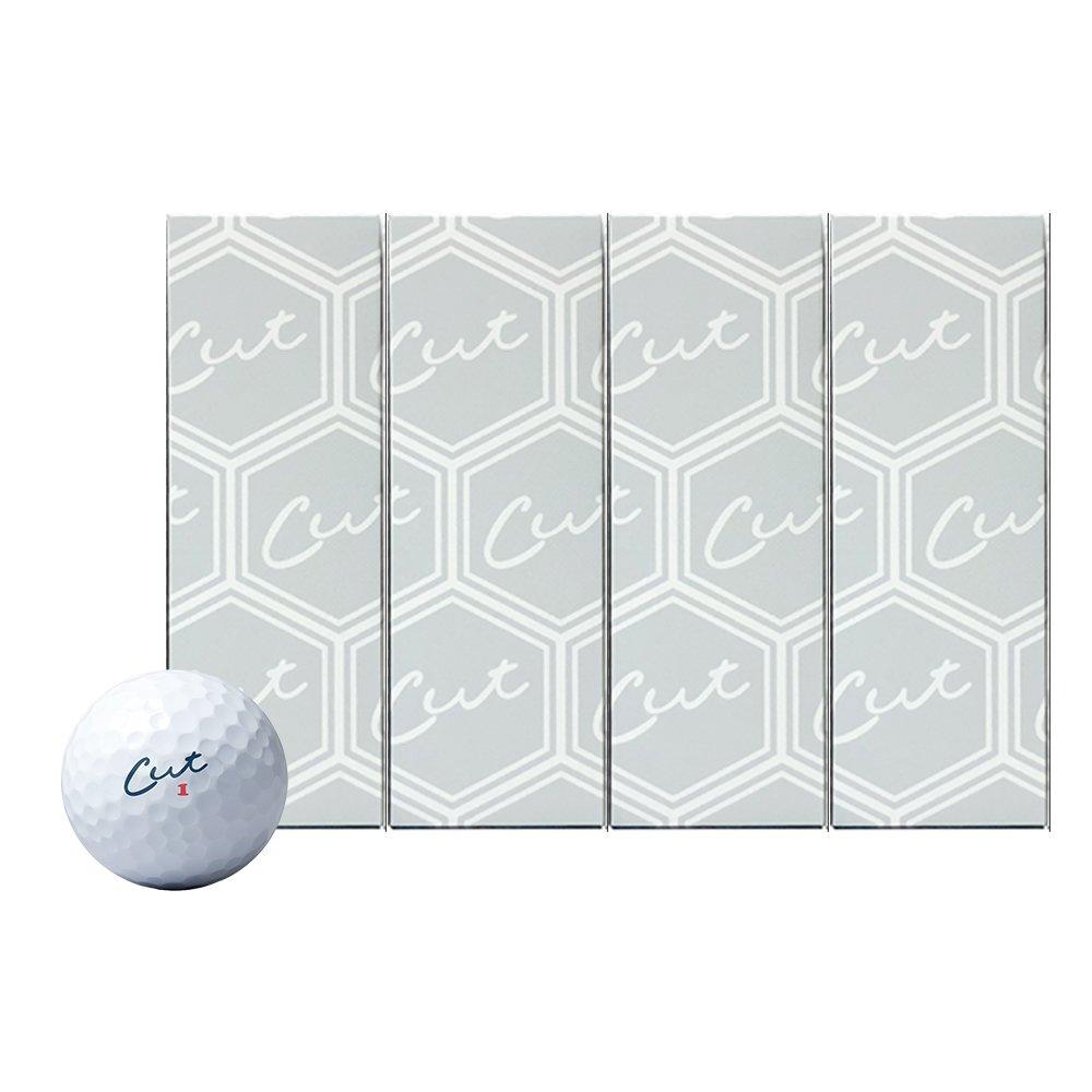 Cut Grey - 3 Piece Urethane Golf Balls/Dozen