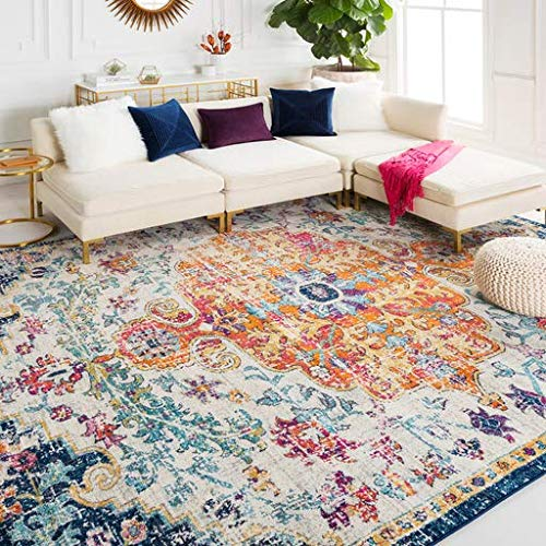 Light Charcoal Rug - Bodrum Updated Traditional Saffron 6'7