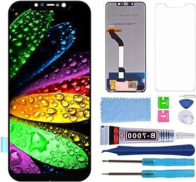 Pantalla LCD Táctil Asamblea Repuesto Compatible con Xiaomi Pocophone F1 / Poco F1 con Herramientas (Negro): Amazon.es: Electrónica