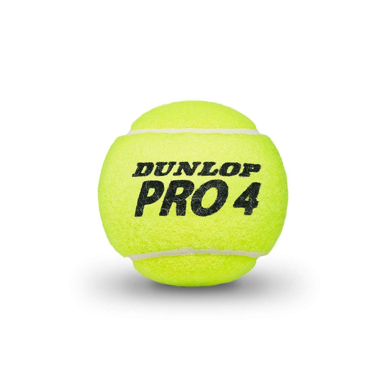 Dunlop Pro Tour Bote 3 Pelotas Tenis, Adultos Unisex, Amarillo ...
