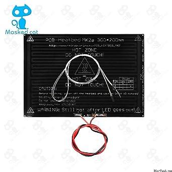 AiCheaX MK2A con resistencia y cable LED para impresora 3D Parts ...