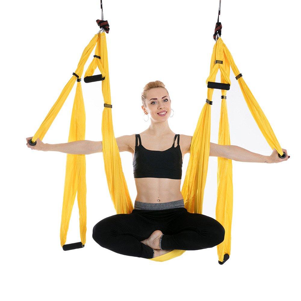 Columpio De Yoga Aéreo, Hamaca De Yoga Antigravedad Ultra ...