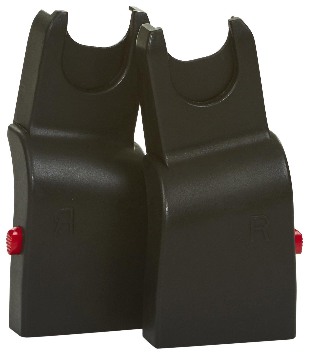 ABC Design 9130500 chili/salsa/condor/turbo/viper/pepper/zoom/maxi-cosi/cybex/kiddy Adaptateur, noir AB9130500