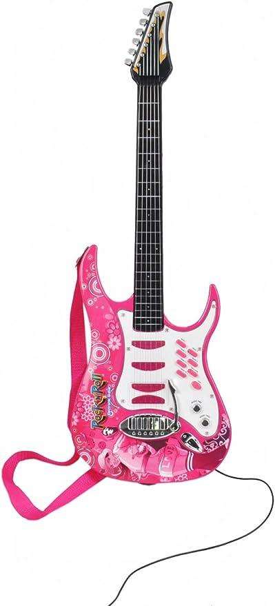 ISO TRADE Guitarra eléctrica + Amplificador + Micrófono con ...