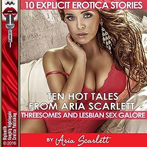 Ten Hot Tales from Aria Scarlett Audiobook