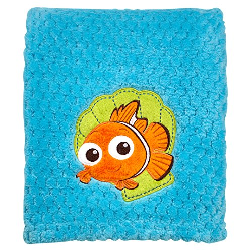 - Disney Popcorn Coral Fleece Blanket, Nemo