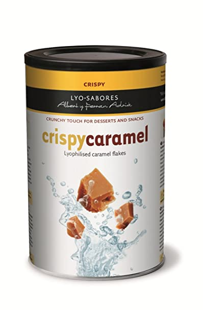Guzmán Gastronomía Crispy Caramel de Albert y Ferrán Adriá - 200 gr