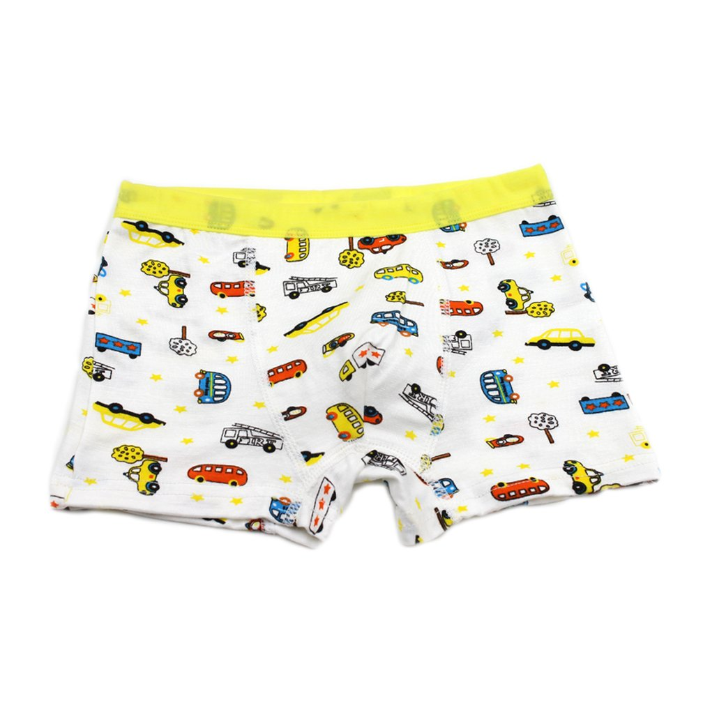 Finecase Little Boys Soft Modal Boxer Briefs Pack of 5