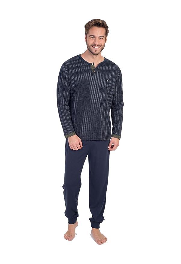 MASSANA - Pijama DE Invierno Hombre Elegance: Amazon.es: Ropa y accesorios