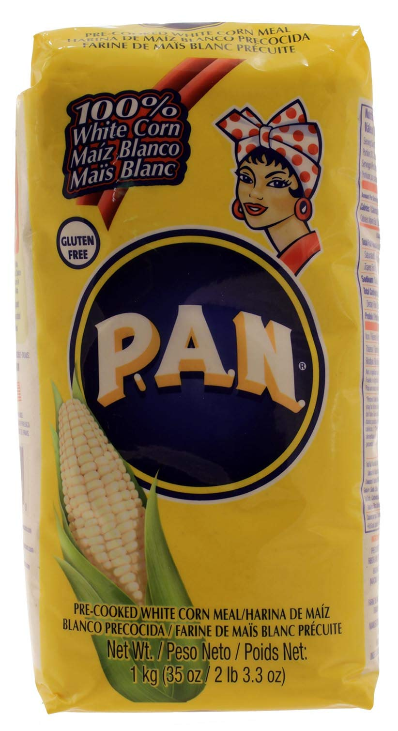 Harina P.a.n. White Corn Meal 1 kg(35 oz/2 lb 3.3 oz)