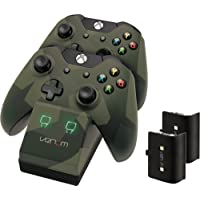 Venom Xbox One Twin Docking Station with 2 x Rechargeable Battery Packs: Camo Edition (Xbox One)