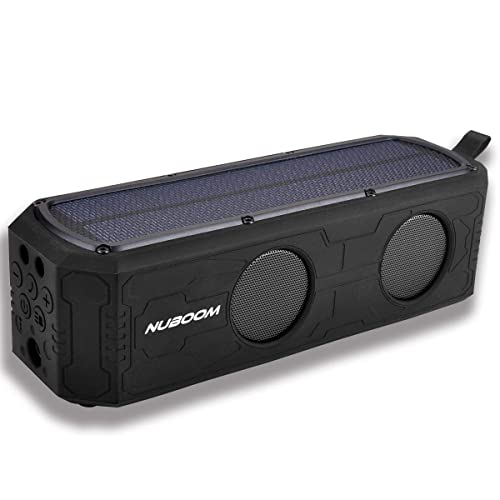 Nuboom Solar Powered Bluetooth Speaker