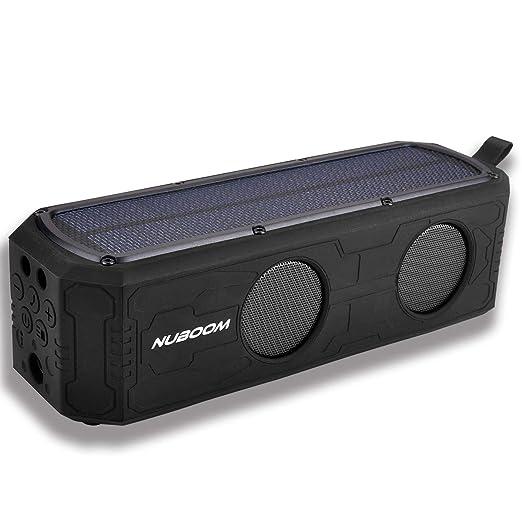 Review Solar Bluetooth Speaker Outdoor