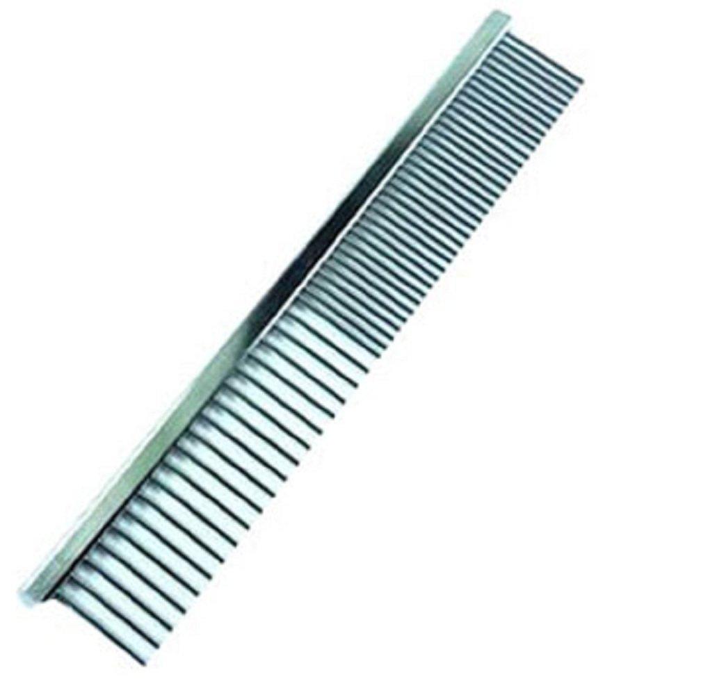 HotEnergy Dog Cat Pet Metal Double Row Teeth Brush Grooming Hair Comb Rake Tool Size