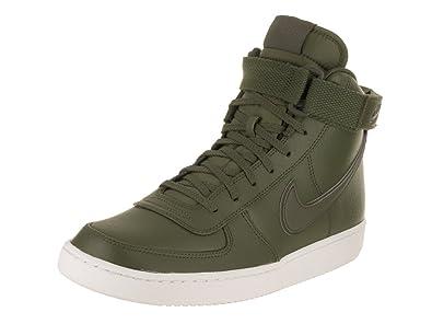 best sneakers 649f4 4d01b Nike Mens Vandal High Supreme Leather Legion GreenLegion Green Basketball  Shoe 7.5 Men US