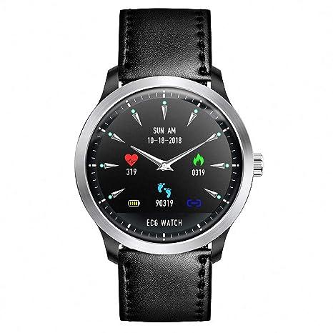 Amazon.com: XSH ECG PPG Reloj inteligente con ...