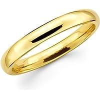 Radhe Krishna Creation golden plated Romantic Love Band Ring for men & women (9.0)