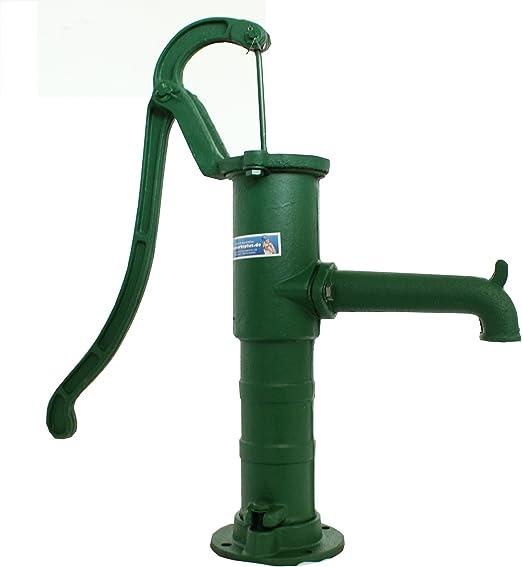 Bomba manual bomba de jardín Bomba de agua manual bomba de agua Bomba de mano Nostalgie: Amazon.es: Jardín