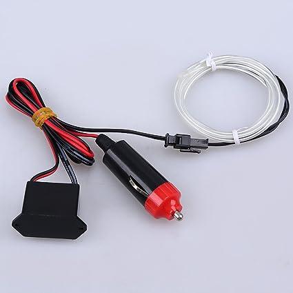 Possbay EL Wire Neon Beleuchtung Innenbeleuchtung 2M mit 12V ...
