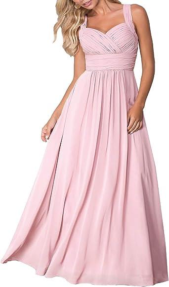 Women Bride Wedding Wrap Pink Floral Long Dress Ball banquet Prom Gown Cocktai 9