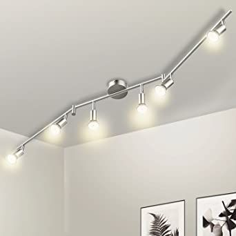 Wowatt Deckenstrahler LED 6 flammig Deckenlampe LED Küche ...