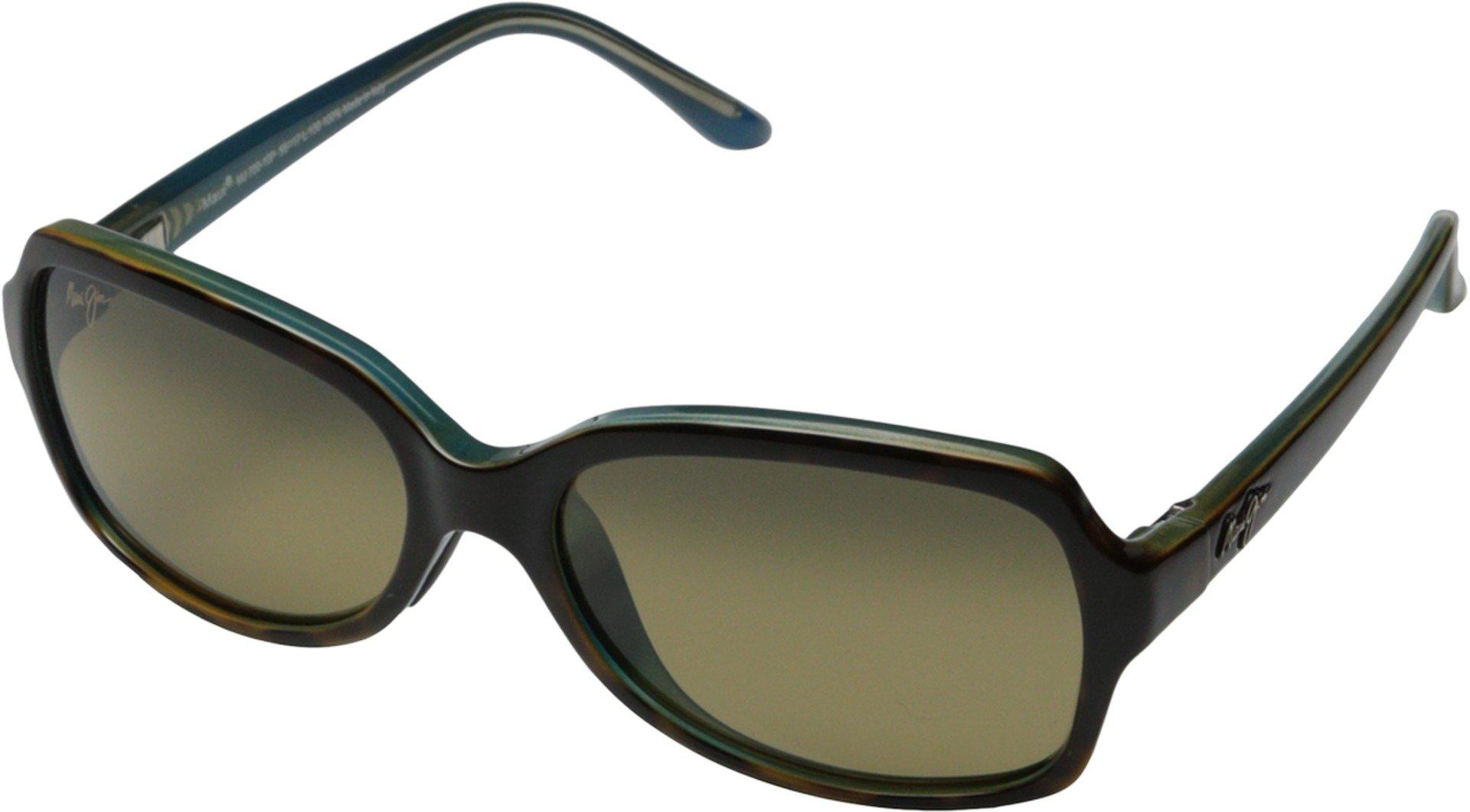 Maui Jim Cloud Break Polarized Sunglasses - Women's Tortoise with Peacock Blue / HCL Bronze One Size