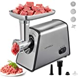 Meat Grinder Electric, Stainless Steel Meat Mincer, Sausage Stuffer, [2600W Max] Kubbe Maker Kit Included Home Kitchen…