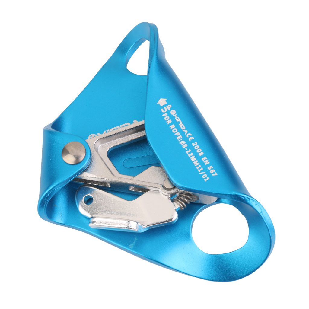 Chest Ascender for 8mm-12mm Ropes Climbing Rescue Caving Blue