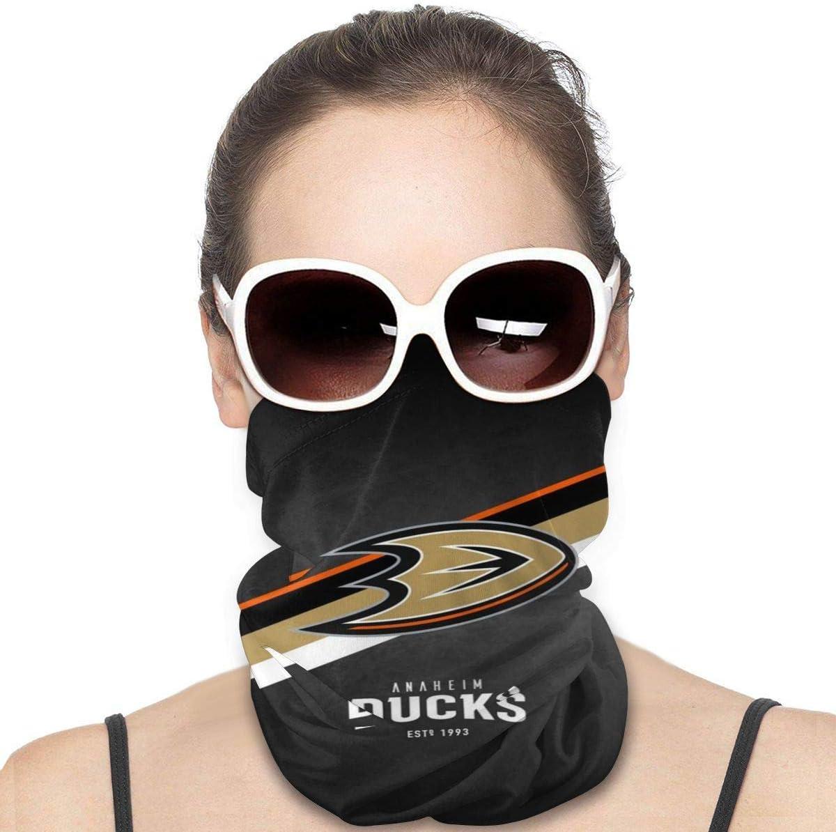 ZZAJJA Anaheim-Ducks Light And Breathablesports fashion/Unisex/Multifunctiona/Scarf/Sports/Sun/protection/Bandanas/Neck/Gaiter