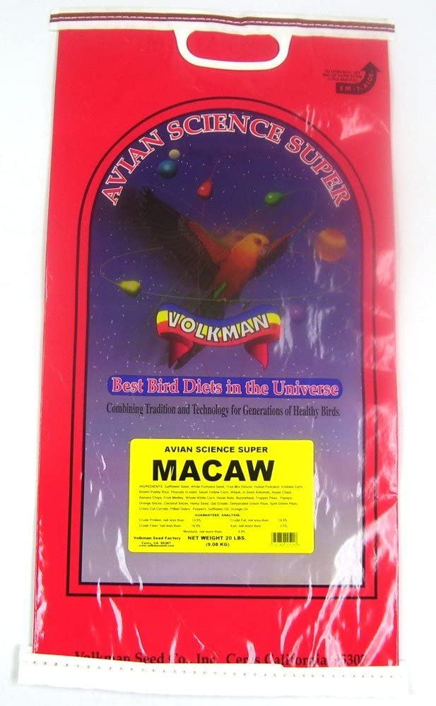 Volkman Seed Avian Science Super Macaw 20lb