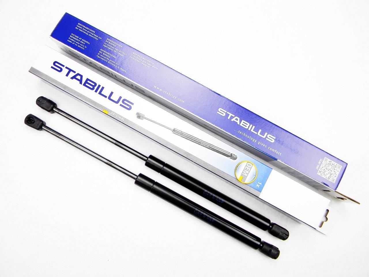 2x STABILUS LIFT-O-MAT LIFTER GASFEDER D/ÄMPFER KOFFERRAUM 125238