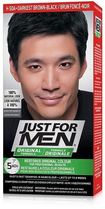 Just For Men Original Formula Men S Hair Color Real Darkest Brown Black