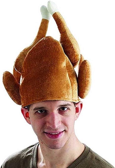 WSJKHY Sombrero De Turquía Asado Disfraz De Acción De Gracias ...